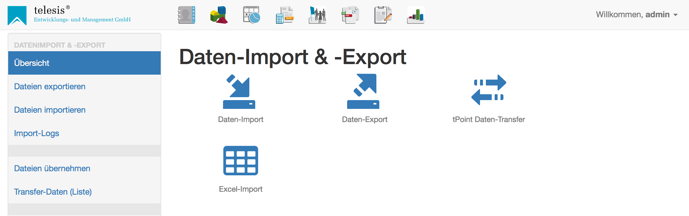 t-Point Import/Export